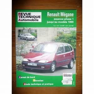 Revue Technique Megane 2 : rta revues technique automobile renault megane essence phase i jusqu 39 au mod le 1999 berline ~ Maxctalentgroup.com Avis de Voitures