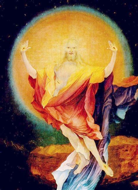 sonnengeburt das auferstehungsbild des isenheimer altars