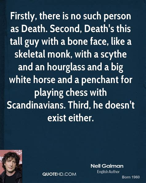 death neil gaiman quotes quotesgram