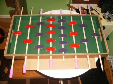 foosball table     cardboard