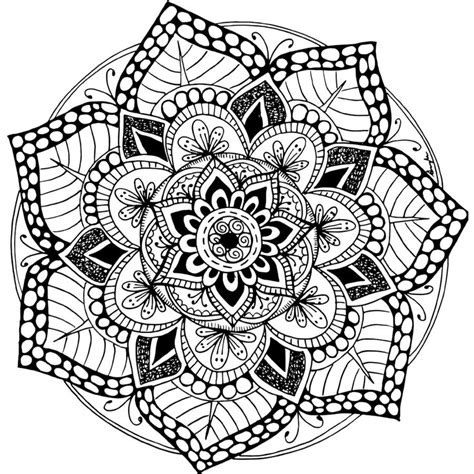 mandala to color 100 best printable mandalas to color free images on
