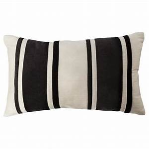 black and cream striped bolster i target With bolster pillow target