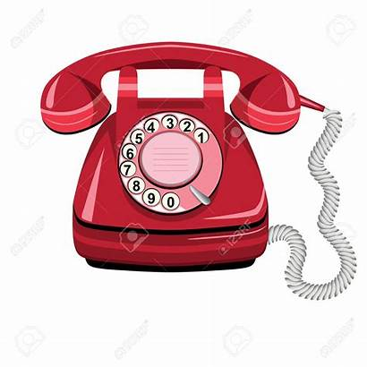 Telephone Icon Phone Clipart Vector Rotary Clip
