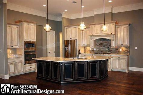 Plan 56334sm French Country Home Plan With Extras