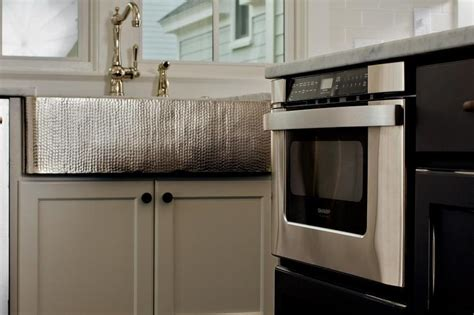 hammered stainless steel apron front sink kitchen with hammered apron sink transitional kitchen