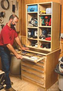 Tool Cabinet - Popular Woodworking Magazine
