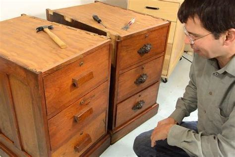 making drawer pulls   tables