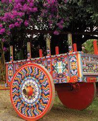 El taller del color: La carreta típica de Costa Rica