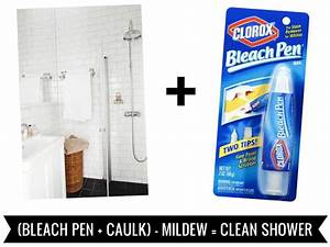 clean house removing mildew from bathroom caulk and grout With bleach to clean bathroom