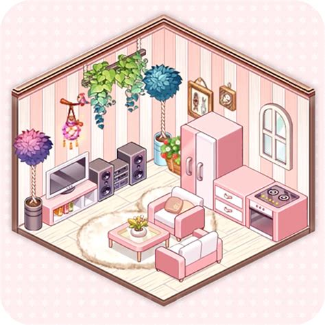 kawaii home design decor fashion game  mod