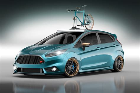 Car St by Modified Ford Focus St St Cars Heat Up Sema