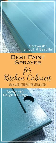 best paint sprayer for kitchen cabinets our diy kitchen renovation started with a builder s 9182