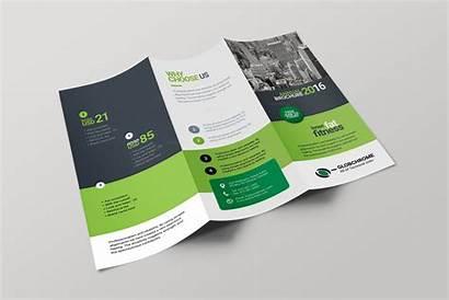 Brochure Fold Tri Creative Corporate Lexington Brochures