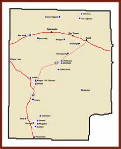 Catron County New Mexico Map