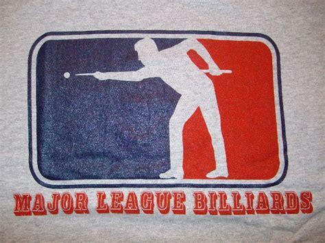 major league billiards t-shirt   Billiards, Custom tshirts ...