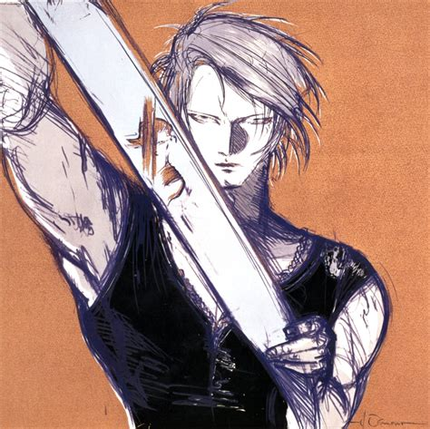 Squall Final Fantasy Gallery