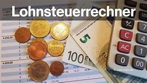 Lohnsteuer Grenzgänger Berechnen : lohnsteuerrechner 2018 lohnsteuer berechnen so geht es ~ Themetempest.com Abrechnung