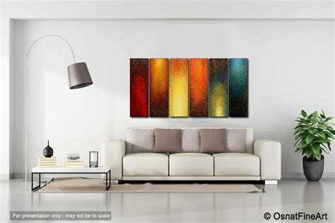 Large Abstract Wall Art #3962