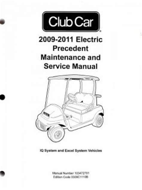 download car manuals pdf free 1993 ford club wagon parental controls 2009 2011 club car electric precedent service manual