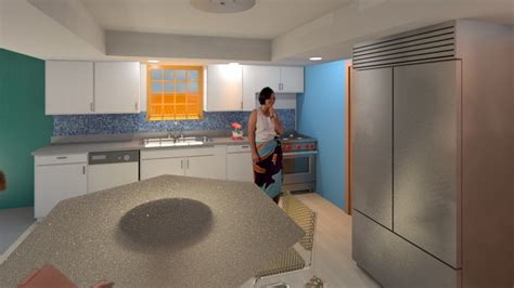 revit  interior design project techniques