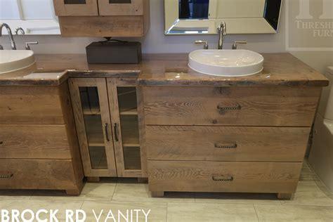 reclaimed wood bathroom vanity toronto reclaimed wood