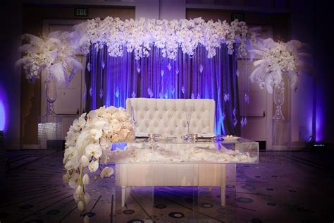 wedding stage decorations stage decor backdrops artquest flowers 1161