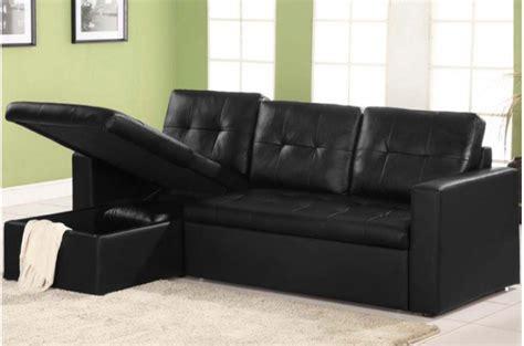 canape noir cuir canapé angle noir simili cuir