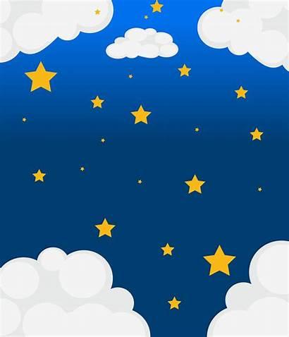 Sky Stars Bright Vector Star Starry Clipart