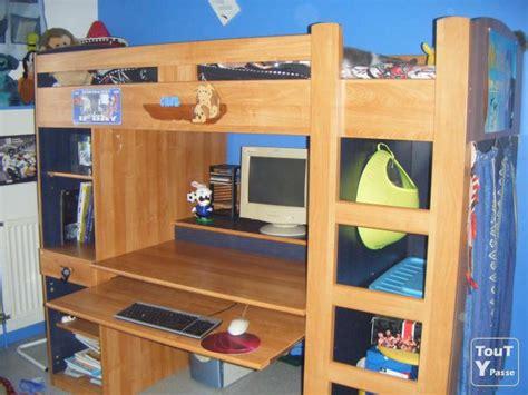 lit mezzanine 1 place avec bureau vends lit mezzanine avec bureau et rangements lyon 08 69008