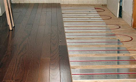 Hydronic Radiant Floor Heating With Raupanels From Warmzone