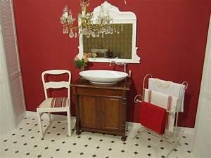 Badmöbel Vintage Style : bad antik landhaus schafft w rme und behaglichkeit ~ Michelbontemps.com Haus und Dekorationen