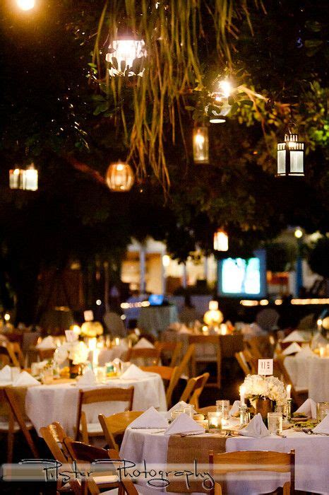 a garden wedding reception at postcard inn on st pete