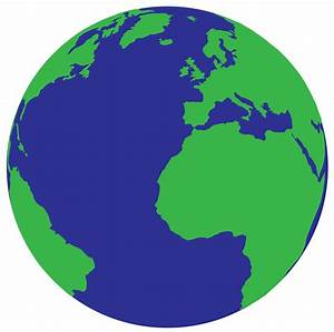 Simple Planet Earth Clipart - Clipart Suggest