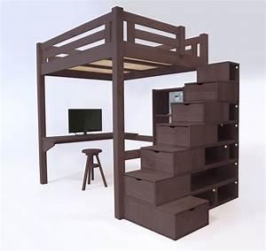 Hauteur Lit Mezzanine : 23 best images about lit mezzanine abc meubles on ~ Premium-room.com Idées de Décoration