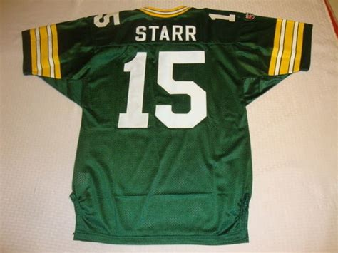 bart starr green bay packers nfl qb green throwback