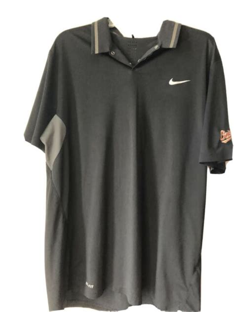 Mens Tiger Woods Collection Nike Golf Polo Orioles Logo ...