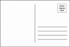 postcard template 4 per page simple designs With postcard template for pages