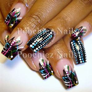 Fresh new nail art style design from coolnailsart