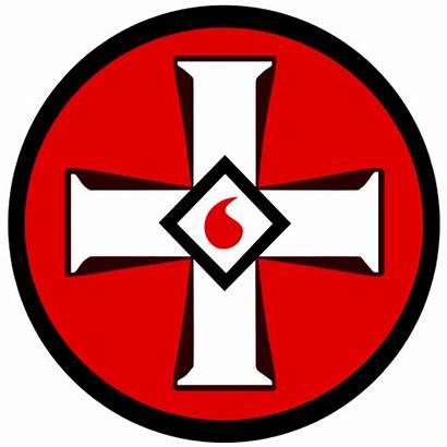 Kkk Klux Ku Klan Emblem Symbol Symbols