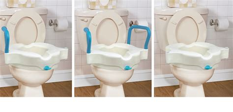siege toilette 3 in 1 raised toilet seat by aquasense aquasense