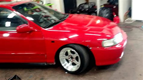 New Acura Integra Jdm Front Conversion Youtube