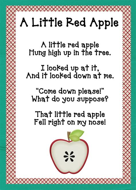 apple songs preschool a is for apples packet oopsey 239