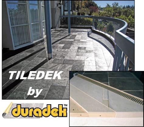 Failed Tile Decks Don't Use Tiledek Waterproof Membrane
