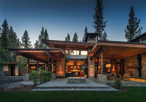 basement floor plans ideas mountain modern home in martis c with indoor outdoor living