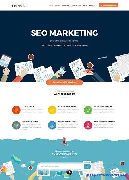 Website Seo Marketing by 30 Best Seo Website Templates For Seo Companies Agency