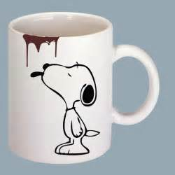 Snoopy with Coffee Mug