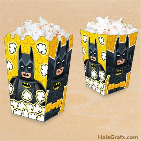 batman gift box template free printable lego batman popcorn box