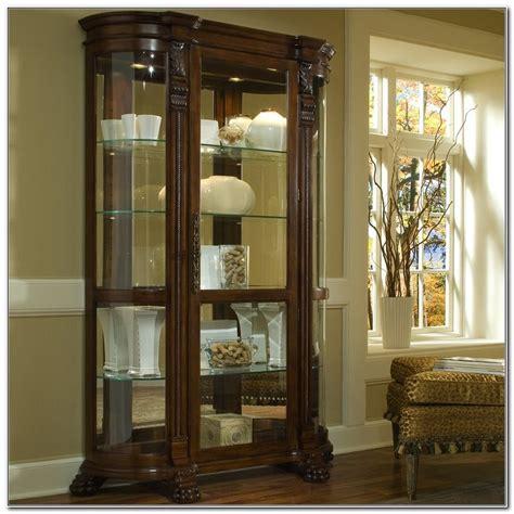pulaski curio cabinets canada pulaski curved glass curio cabinet cabinet home design