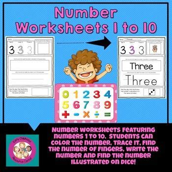 number worksheets       images family