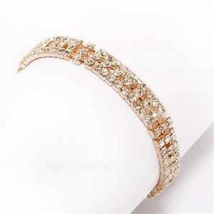 alliage avec strass femmes bracelets 011033353 mariage With robe de cocktail combiné avec bracelet tissu rolex
